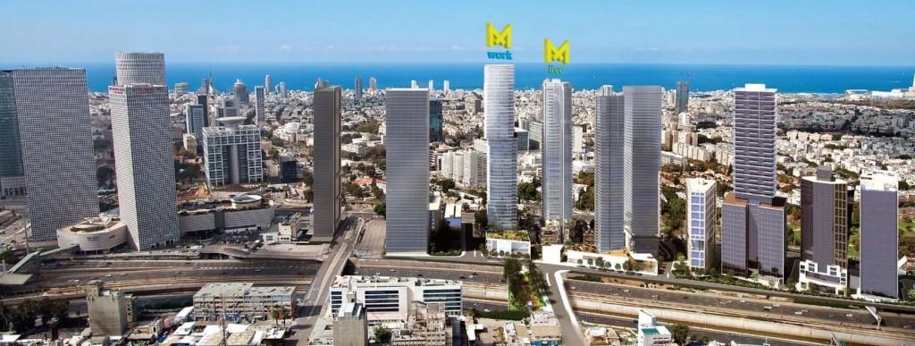 אסף טוכמאייר - כך ייראה המידטאון של תל אביב